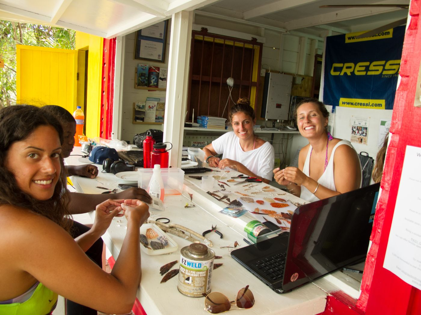 Lionfish Jewellery Making Carriacou Grenada